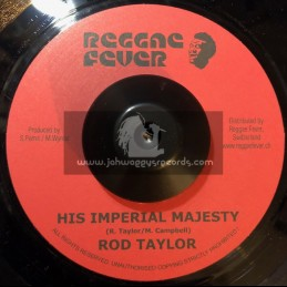 """Reggae Fever-7""""-His Imperial Majesty / Rod Taylor"""