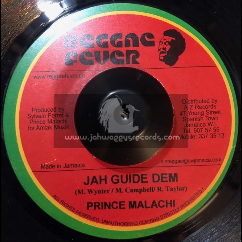 """Reggae Fever-7""""-Jah Guide Dem / Prince Malachi"""