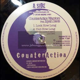 """CounterAction-10""""-Look How Long / Izyah Davis + Stand Up And Praise / Jah Mystic"""