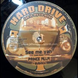 "Hard Drive-10""-See Me Ya / Prince Alla + Omega Dub / Loota (Mass-I)"