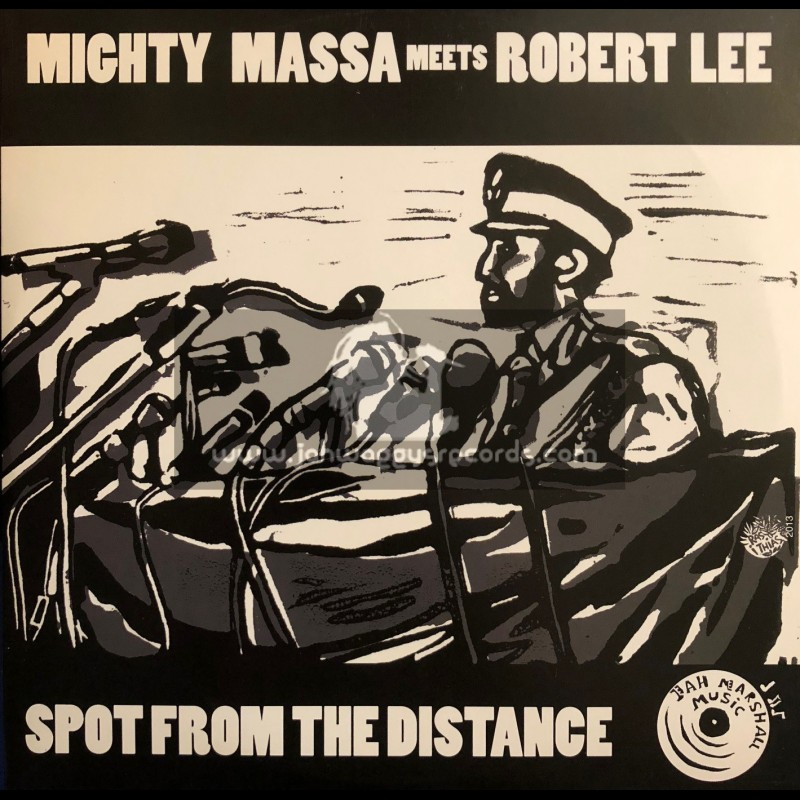 "Jah Marshall Music-10""-Spot From The Distance / Robert Lee - Mighty Massa"