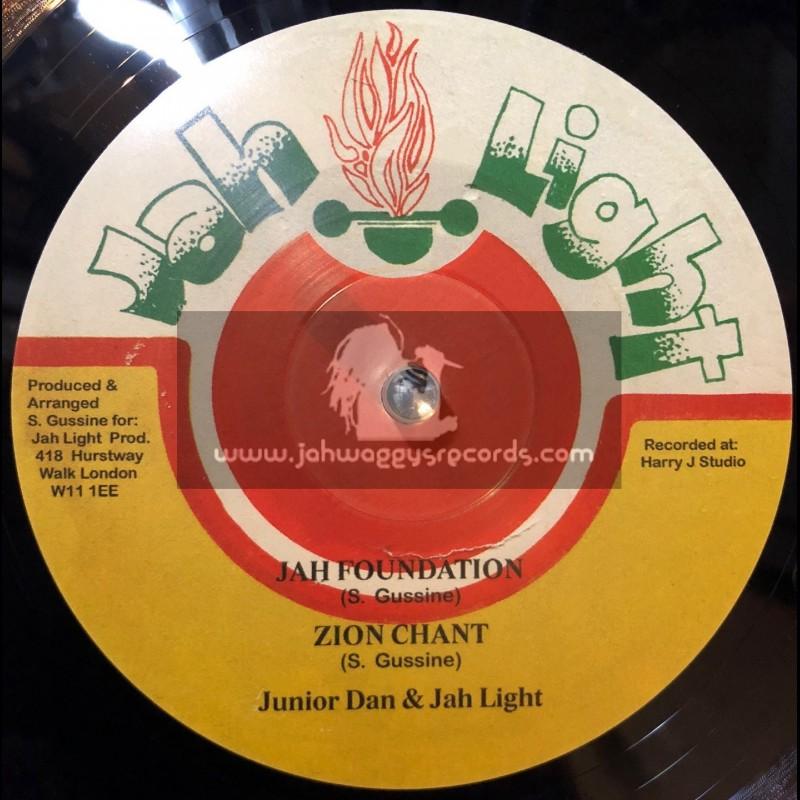 "Jah Light-10""-Jah Foundation / Junior Dan & Jah Light"