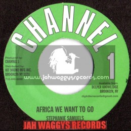 "CHANNEL 1-7""-AFRICA WE WANT TO GO / STEPHANIE SAMUELS"