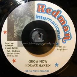 """Redman international-7""""-Geow Now / Horace Martin"""