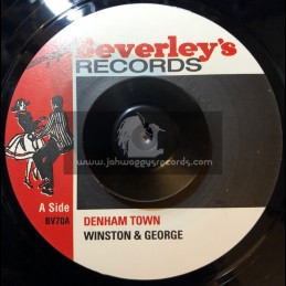 "Beverleys Records-7""-Denham Town / Winston And George + Keep The Pressure On / Winston And George"