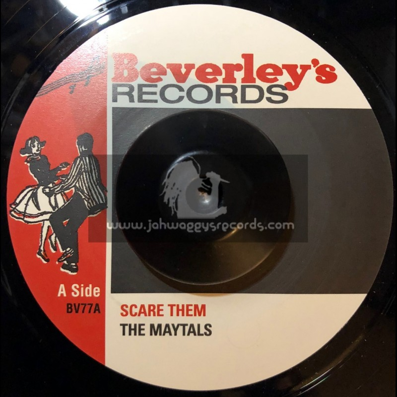 """Beverleys Records-7""""-Scare Them / The Maytals + Sweet & Dandy / The Maytals"""