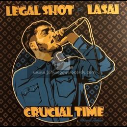 "Legal Shot Sound System-12""-Crucial Time / Lasai + Musical Soldier / Lasai"
