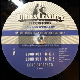 "Vibescreator Records-12""-2000 Dub / Echo Gardener + Tuffy / Echo Gardener"