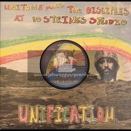 """Unitone Soundimentional Music-10""""-Unification / Unitone Meets The Disciples At 10 Strings Studio"""
