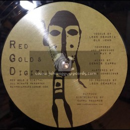 "Red Gold & Digital-12""-No Matter Where You Come From / Leon Demaria + Blood Money / Old John"