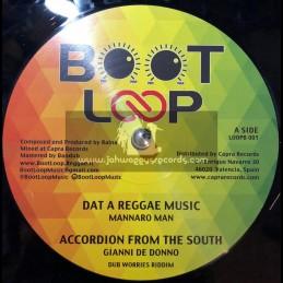 "Boot Loot-12""-Dat A Reggae Music / Mannaro Man + Madness / Ras Mat-I"