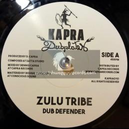 "Kapra Dubplates-7""-Zulu Tribe / Dub Defender + Zulu Dub / Dennis Capra"