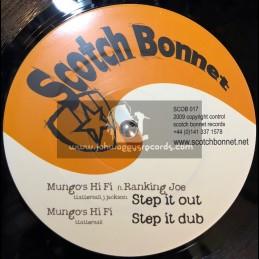 "Scotch Bonnet-12""-Step It Out / Ranking Joe + Working Harder / Black Champagne & Rest Of My Day / Lyricson"