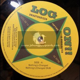 """Log On-10""""-Nothings Changed + Its Strange / Martin Campbell"""