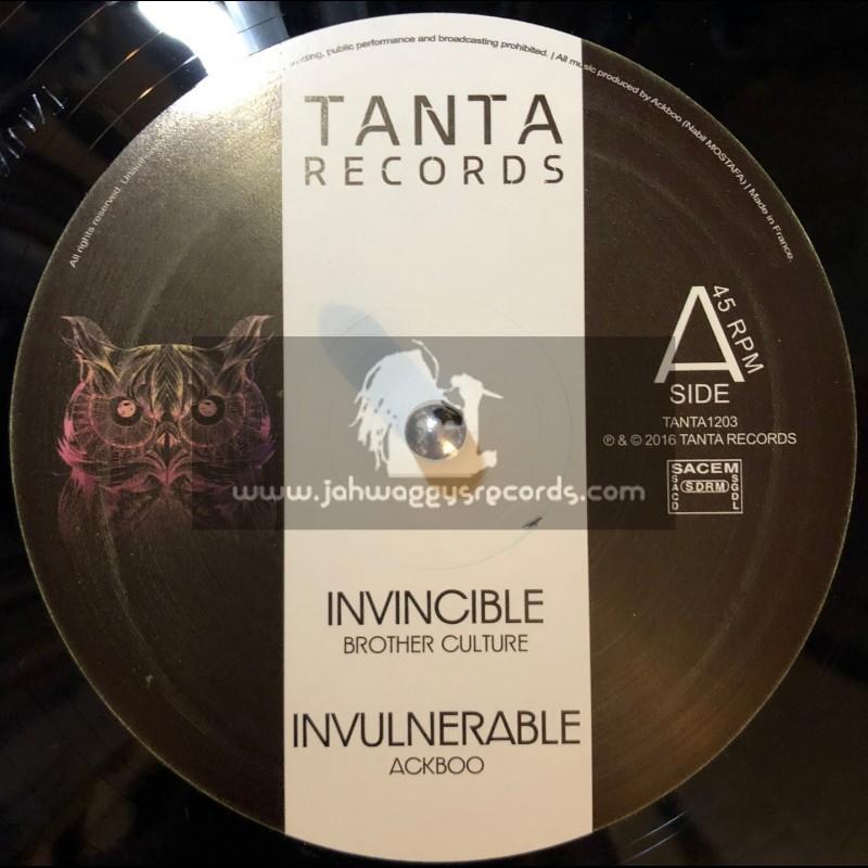 "Tanta Records-12""-Invincable / Brother Culture + Ina Sky / Marcus Gad - Ackboo"