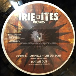 "Irie Ites Records-10""-Jah Jah Man / Cornell Campbell + Irie Collie / Tamlins"