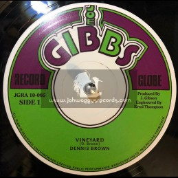 """Joe Gibbs-10""""-Repatriation / Dennis Brown + Vinyard / Dennis Brown"""