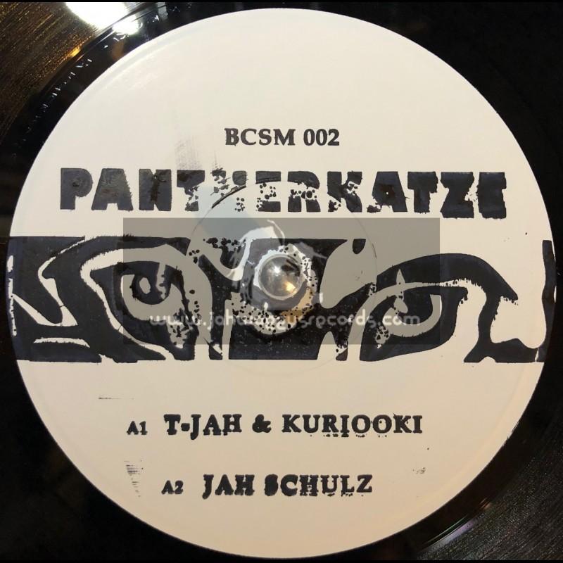 """Basscomesaveme-7""""-Pantherkatze / T-Jah, Kuriooki & Jah Schulz"""