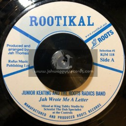 "Rootikal-7""-Jah Wrote Me A Letter / Junior Keating"