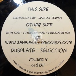 "Jah Waggys Dubplate Selection vol 4-12""-Feat Sister Sunshine/The Dubconductor + Uprising Sounds (TEST PRESS)"