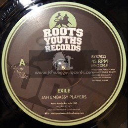 "Roots Youths Records-7""-Exile / Jah Embassy Players"