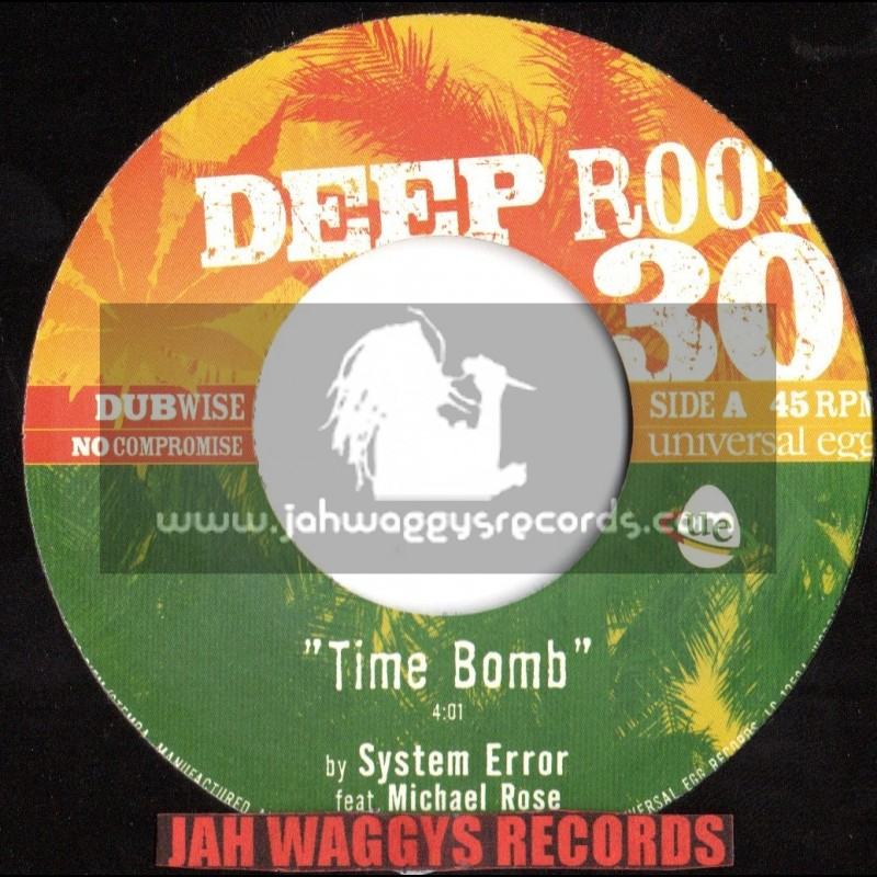 """DEEP ROOT-7""""-TIME BOMB / SYSTEM ERROR -MICHAEL ROSE"""