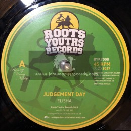 "Roots Youths Records-7""-Judgement Day / Elisha"