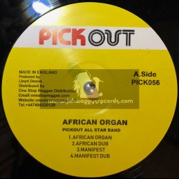 """Pick Out-12""""-African Organ / Pick All Star Band"""