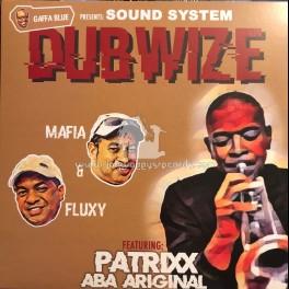 Gaffa Blue-Lp-Sound System Dubwise / Mafia And Fluxy Feat  Patrixx