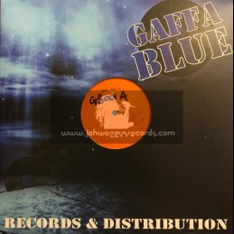"Gaffa Blue-12""-Test Press-Words Of The Father / Earl Cunningham - Coach Riddim EP"