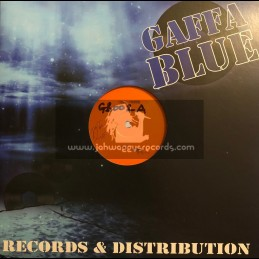 "Gaffa Blue-12""-Test Press-Slate Clean / King Kong - Dont Fret Riddim EP"