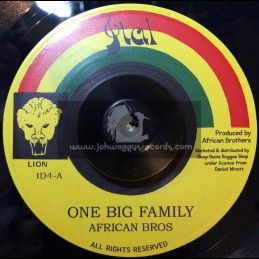 """Ital Lion-7""""-One Big Family / African Brothers"""