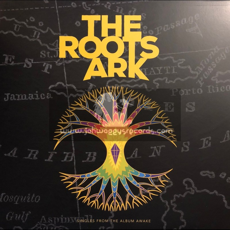 """Kan Ahua Records-12""""-Remembrance / The Roots Ark + Rebirth / The Roots Ark"""