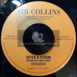 """Sir Collins-7""""-After The Storm + This Life That I m Living / The Invaders"""