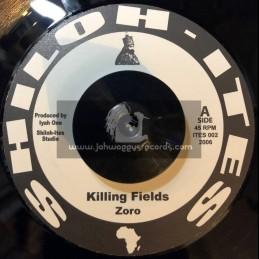 "Shiloh Ites-7""-Killing Fields / Zoro"
