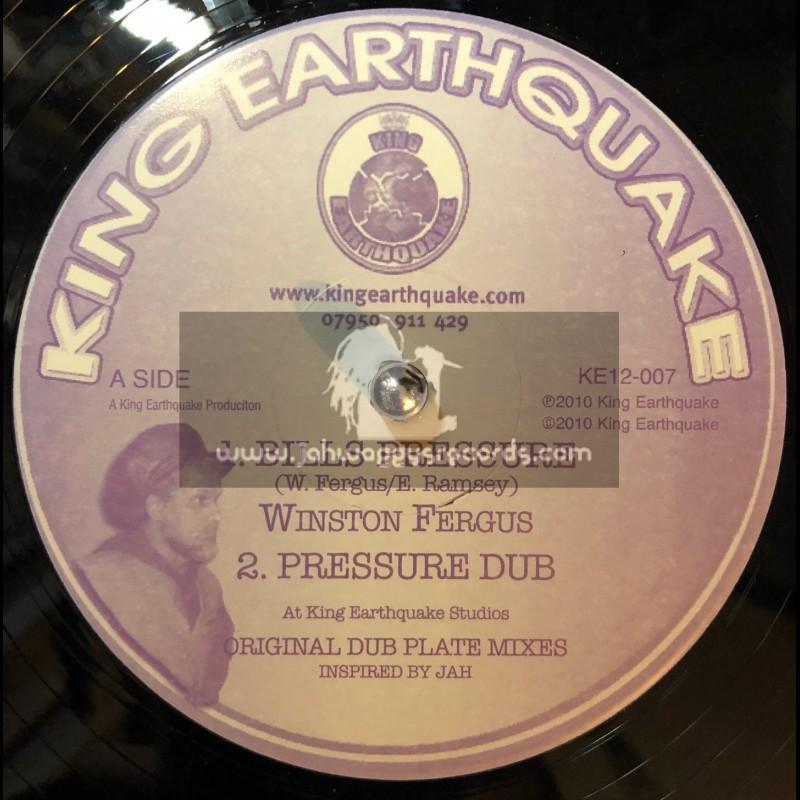 "KING EARTHQUAKE-12""-BILLS PREASURE/WINSTON FURGUS + FAR I/WINSTON FURGUS"