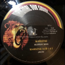 "Original Dub Sound-12""-Warning / Murry Man + Better Days / Jacin"