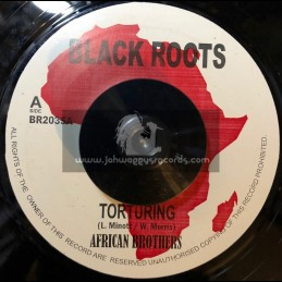 """Black Roots-7""""-Torturing / African Brothers"""