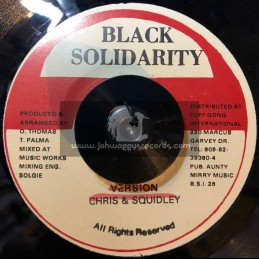 "Black Solidarity-7""-Righteousness Is My Religion / Willie Williams"