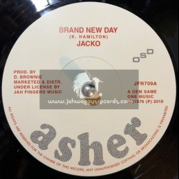 "Asher-Jah Fingers-7""-Brand New Day / Jacko"