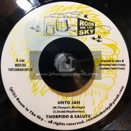 "Room In The Sky-7""-Unto Jah / Thorpido & Salute + Declaration Of Dub / Vin Gordan & Salute"