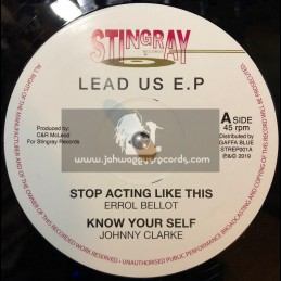 """Stingray-12""""-Stop Acting Like This / Errol Bellot - Lead Us EP"""