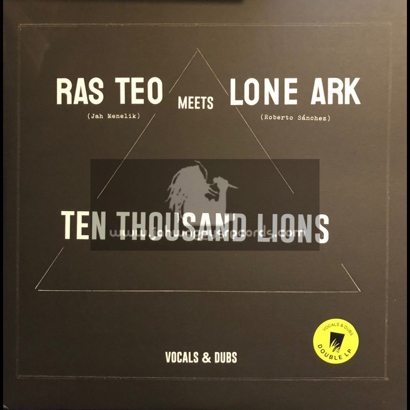 A Lone Productions-Double-Lp-Ten Thousand Lions / Ras Teo Meets Lone Ark