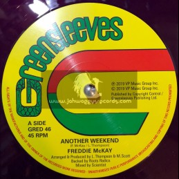 "Greensleeves Records-12""-Another Weekend / Freddie McKay + Live Together / Earl Sixteen"