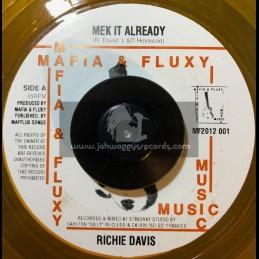 "Mafia & Fluxy Music-7""-Mek It Already / Richie Davis (Bun Cheese Riddim)"