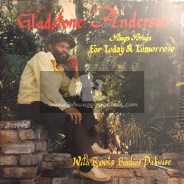 Glad - Sound - Double Lp - Gladston Anderson Sings Songs For Today & Tomorrow - With Roots Radics Dubwise