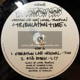 "Vibration Lab-Tribulation Time / Linval Thompson - Double 12"""