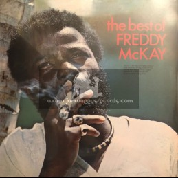 Only Roots-GG Records-Lp-The Best Of Freddie McKay