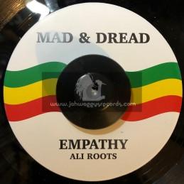 "Mad & Dread-7""-Empathy / Ali Roots"