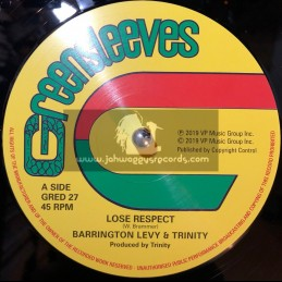 Greensleeves-12-Lose Respect / Barrington Levy & Trinity + Since Your Gone / Roman Stewart & Trinity